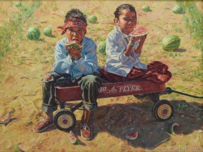 Joe C. Hyrum - Watermelon Summer (PLV91454-0420-013)