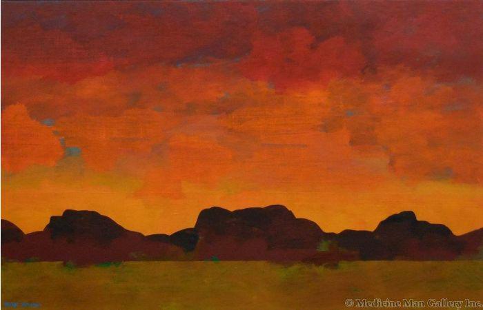 Mark Bowles - Solitude of the Desert (Giclee)