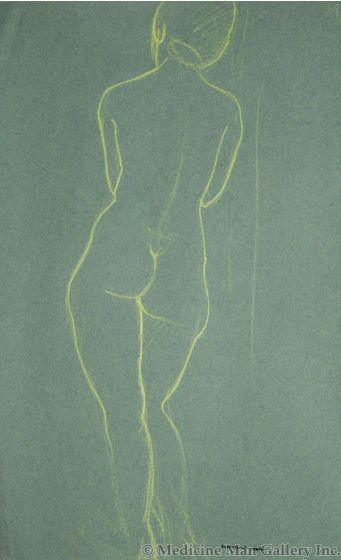 SOLD Doel Reed (1895-1985) - Back View of Nude