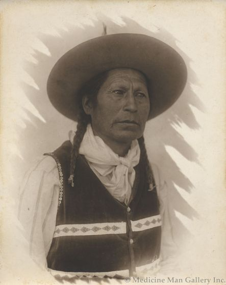 William Pennington (1874-1949) - Portrait of an Indian Man attributed to Pen-Dike Studio (M1445J)