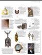 "Dana Busch - ""Ariel Tapestry of Olive Groves"" Cluster Drop Earrings with Ocean Jasper, Heliodor (Yellow Emerald), Green Tourmaline, Tanzanite, Mint Green Sapphire and 24Kt Gold Vermiel"