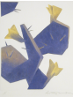 SOLD Ed Mell - Purple Prickly Pear