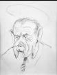SOLD Peter Hurd (1904-1984) - Lyndon Baines Johnson