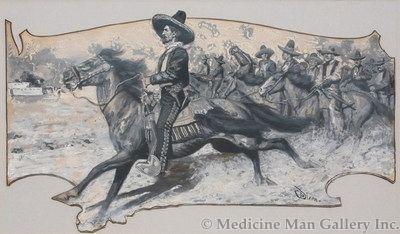 Maynard Dixon (1875-1946) - SOLD - Joaquin Murietta