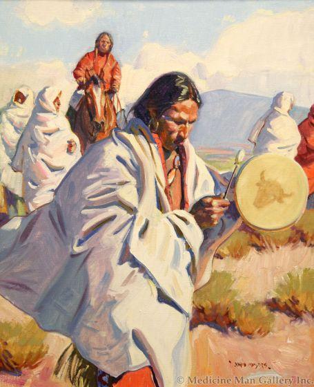 John Moyers - The Buffalo Drum