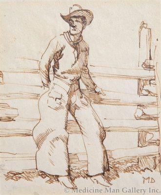 Maynard Dixon (1875-1946) - SOLD - Lookin Purty