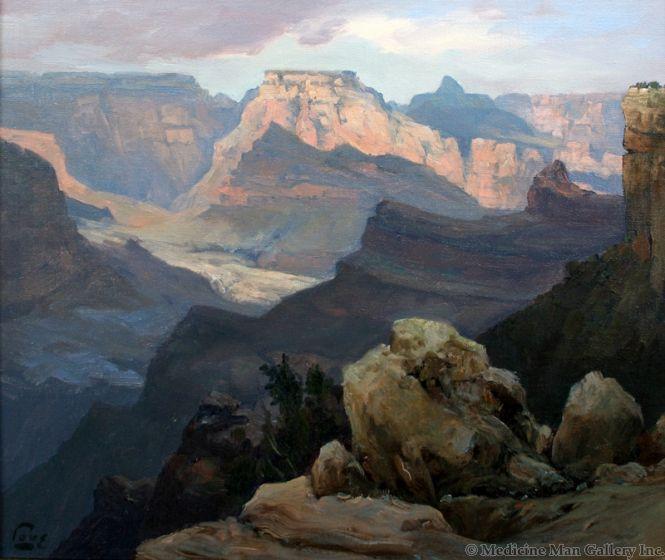 SOLD Ralph Love (1907-1992) - Gran Canyon Watens Throne