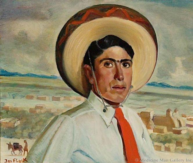 SOLD Joseph Fleck (1892-1977) - Musician