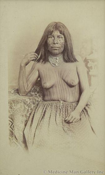 Ben Wittick (1845-1903) - Mojave Woman, Needles, California