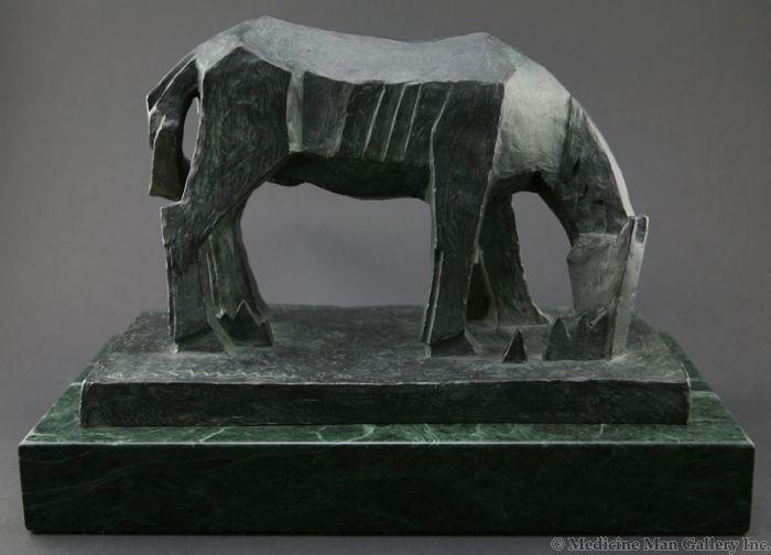 Ed Mell - Caballo Del Prado, Horse of the Grassland