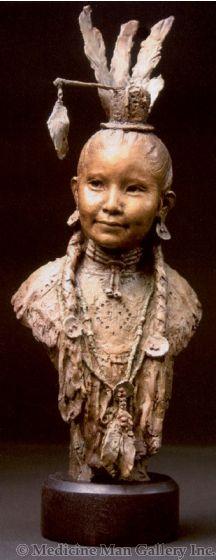 SOLD John Coleman, CAA - Little Pow Wow Girl