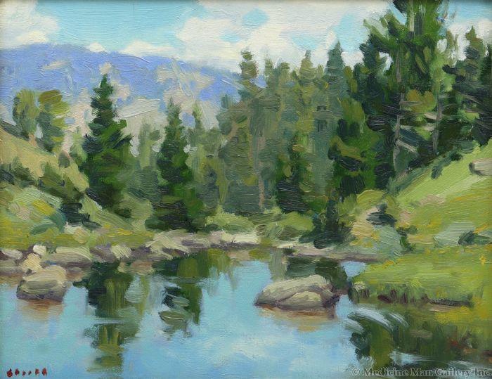Gregory Hull - Wind River Summer (PLV90814-0920-005)