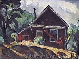 SOLD Charles Surendorf (1906-1979) - Farm House
