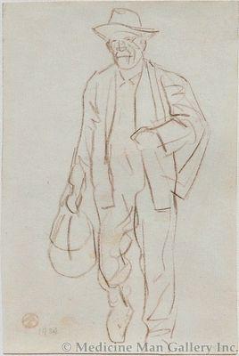 Maynard Dixon (1875-1946) - SOLD - Hobo