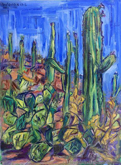 James Woodside - Saguaro Evening