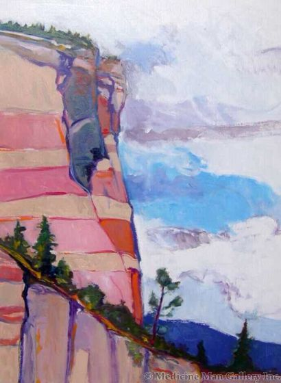 SOLD Gregory Kondos - Ramah, New Mexico