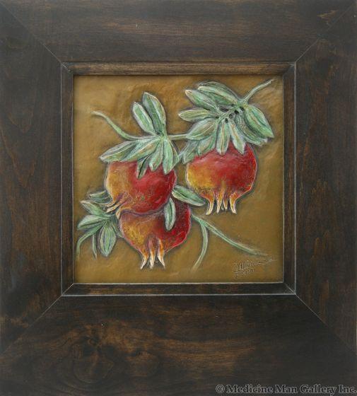 Carol Alleman - Ripe Abundance with Dark Frame