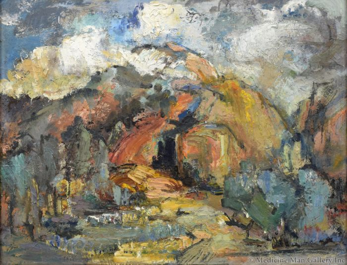 Eric Gibberd (1897-1972) - The Red Mountain