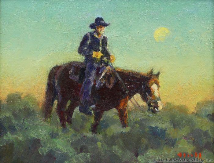 Gregory Hull - Sage Rider (PLV90814-0920-003)