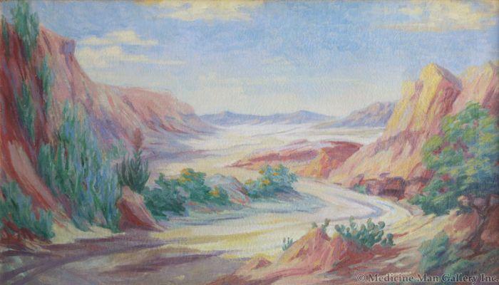 SOLD Kate Thompson Cory (1861-1958) - Untitled Landscape
