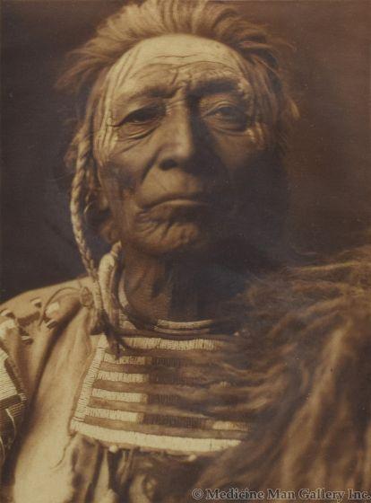 Edward S. Curtis (1868-1952) - Bull Tongue - Apsaroke