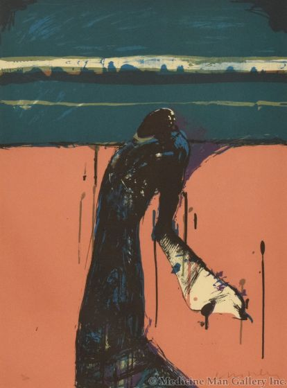 Fritz Scholder (1937-2005) - Portrait of a Dream
