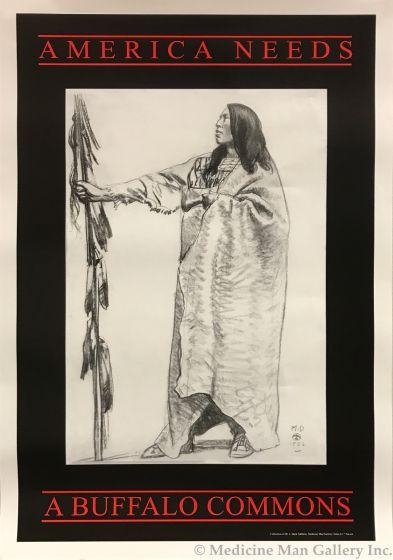 America Needs a Buffalo Commons - Maynard Dixon (1875-1946) Poster