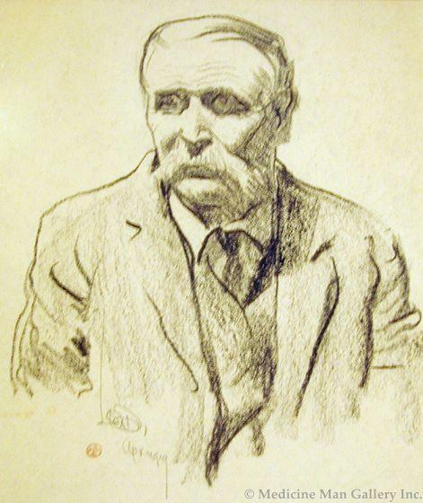 Maynard Dixon (1875-1946) - SOLD - Old Nevada Pioneer