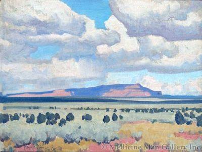 Maynard Dixon (1875-1946) - SOLD - Paiute Reservation