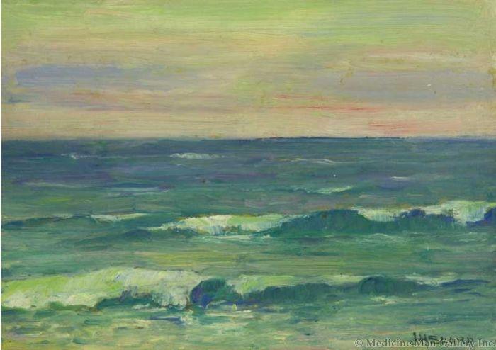 SOLD Joseph Henry Sharp (1859-1953) - Seascape