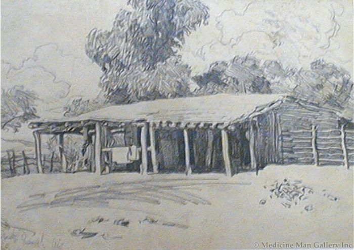 Maynard Dixon (1875-1946) - SOLD - Roberts Ranch, AZ