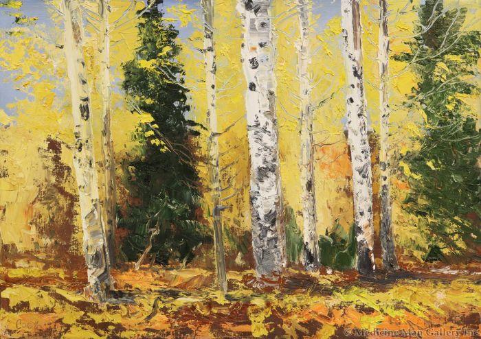 James Cook - Pine Top Study #9