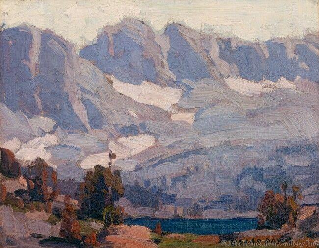 SOLD Edgar Payne (1883-1947) - Big Pine Country