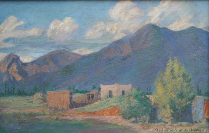SOLD Ralph Goltry (1884-1971) - Adobe Home