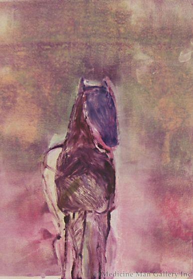 SOLD Fritz Scholder (1937-2005) - Dream Horse 2