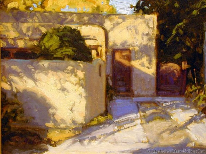 SOLD Bill Gallen - Casita Dappled Light