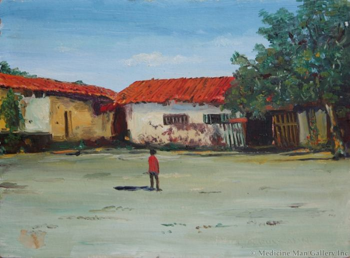 SOLD E. A. Burbank (1858-1949) - Romona's Home 25 Miles by Wagon From Oceanside, Calif