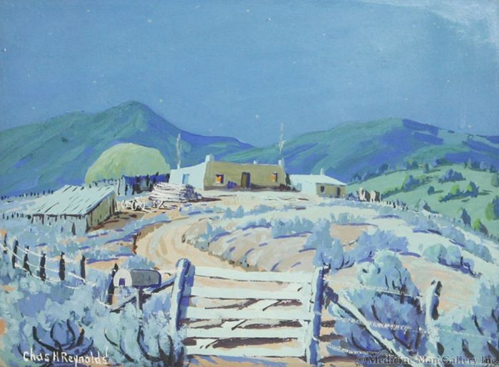 SOLD Charles H. Reynolds (1902-1963) - Moonlight Serenity