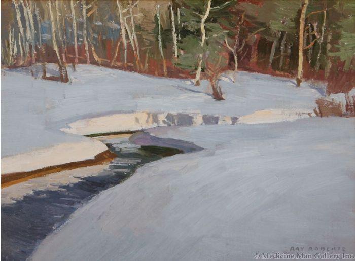 Ray Roberts - Melting Snow (PLV91924-059-002)