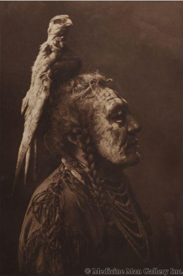 Edward S. Curtis (1868-1952) - Two-Whistles - Asparoke