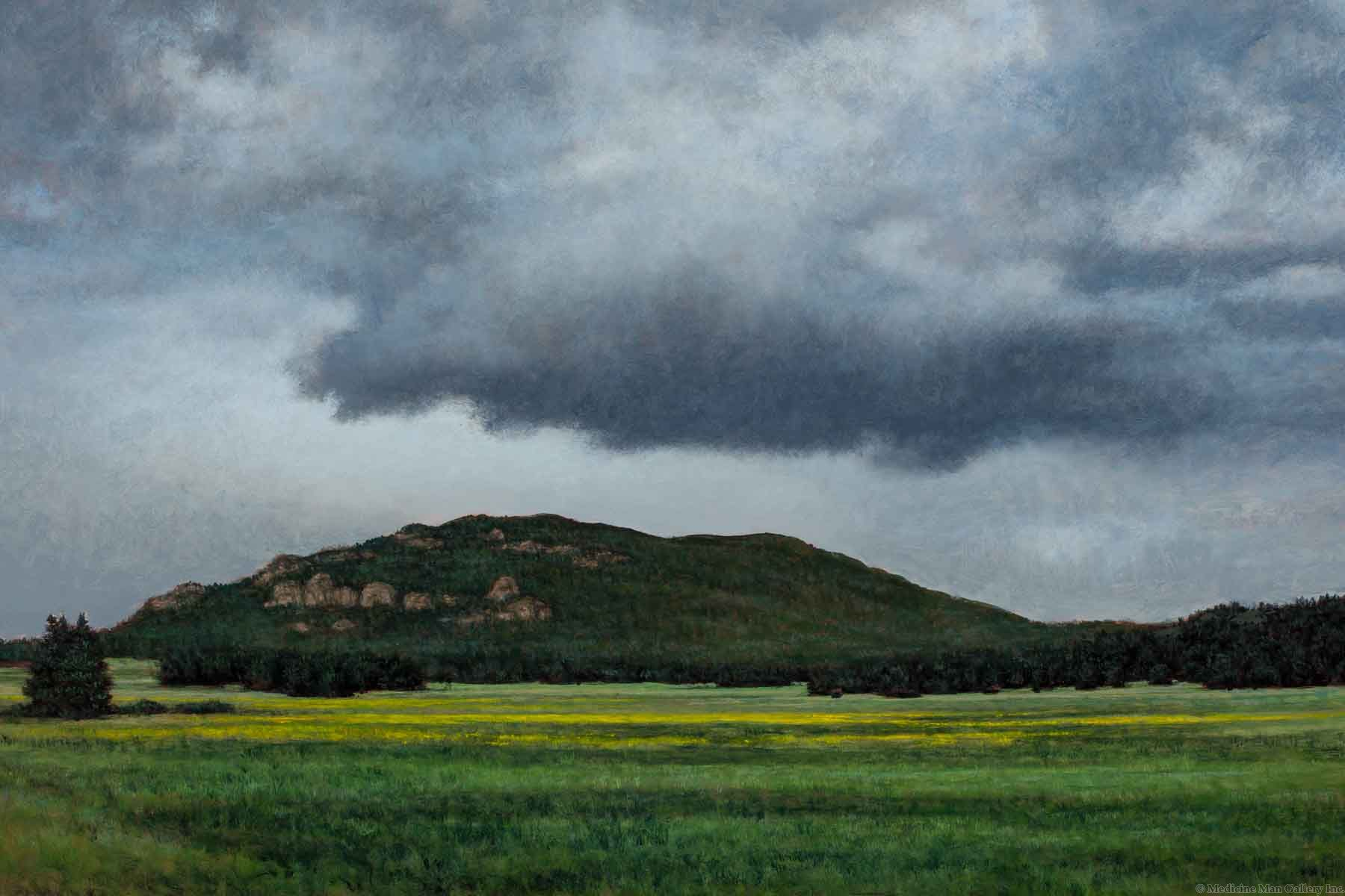 Jeff Aeling - Rain on the Rockies, Co.