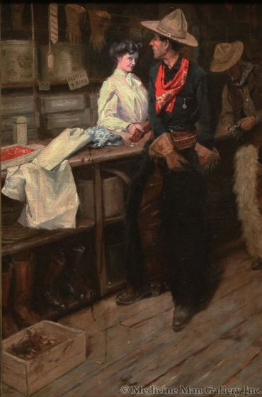 x SOLD W. Herbet Dunton (1878-1936) - The Glance