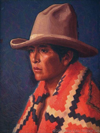 SOLD Henry C. Balink (1882-1963) - Chief's Blanket