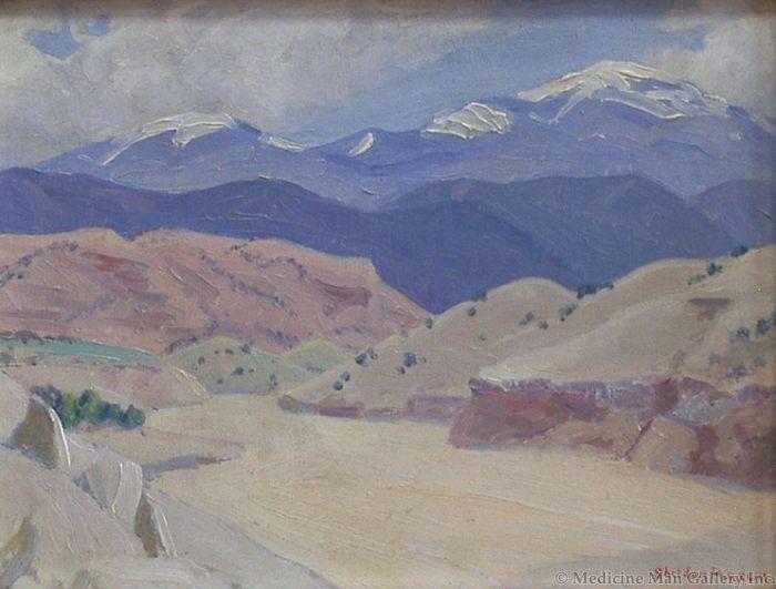 SOLD Sheldon Parsons (1866-1943) - Arroyo II