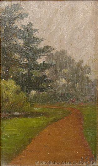 SOLD Bertha Stringer Lee (1873-1937) - Golden Gate Park