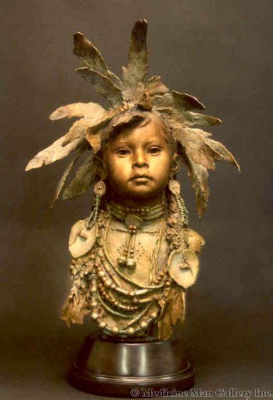 SOLD John Coleman - Little Medicine Girl