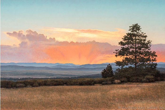 SOLD Jeff Aeling - Sunset on the Front Range