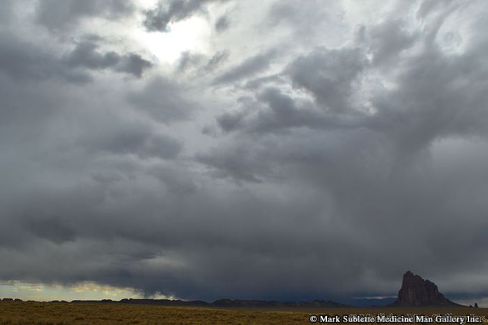 Mark Sublette - Incoming Storm Shiprock NM