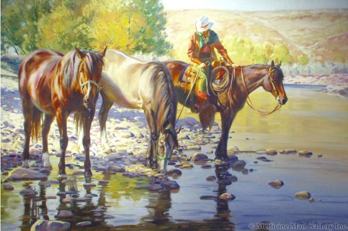 SOLD Terri Kelly Moyers - Cool Clear Water