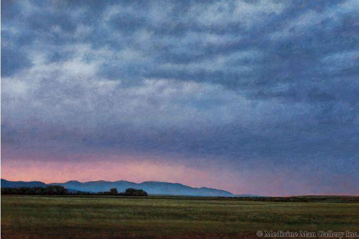 Jeff Aeling - Thunderstorm Over the Sangre de Cristo's (PLV90107-0121-011)